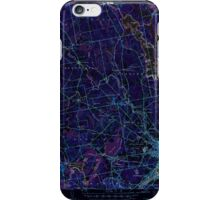 Maine USGS Historical Map Bangor 460142 1946 62500 Inversion iPhone Case/Skin