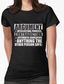 Argument Womens Fitted T-Shirt