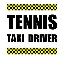Tennis Taxi Driver by AmazingMart