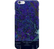 Maine USGS Historical Map Bangor 460143 1946 50000 Inversion iPhone Case/Skin