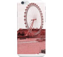 London Eye on river Thames iPhone Case/Skin