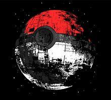 Pokeball Death Star by PieCatchem