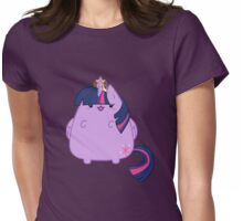 Twlight Sparkle Kitty Womens Fitted T-Shirt