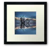 Escape to Heart Island Framed Print