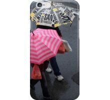 Pink Umbrella iPhone Case/Skin