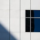 The one with a white wall a window and a shadow by David Librach - DL Photography -