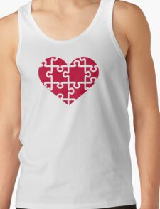 Red heart puzzle T-Shirt