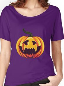 Spooky Halloween Pumpkins 2 Women's Relaxed Fit T-Shirt