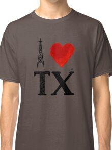 I Heart Texas (remix) by Tai's Tees Classic T-Shirt