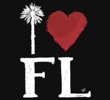 I Heart Florida (remix) by Tai's Tees Kids Tee