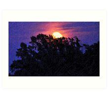 Moonlight and Indigo II Art Print
