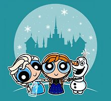 Frozen Powerpuff Girls Mash-Up by PieCatchem