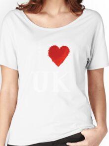 I Heart UK (remix) Women's Relaxed Fit T-Shirt
