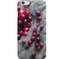 Cranberries and Lavender iPhone Case/Skin