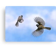 Fly Away With Me - Challenge Winner Canvas Print