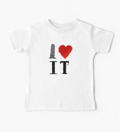 I Heart Italy (remix) Baby Tee