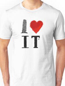 I Heart Italy (remix) Unisex T-Shirt