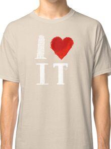 I Heart Italy (remix) Classic T-Shirt