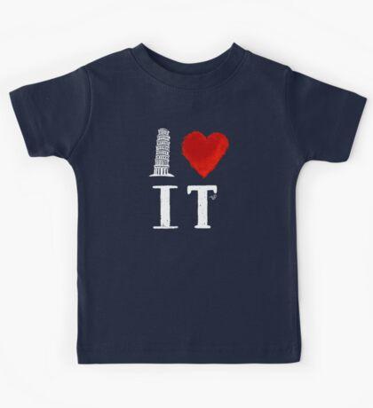 I Heart Italy (remix) Kids Tee