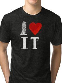 I Heart Italy (remix) Tri-blend T-Shirt