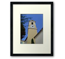 Blue is the colour of time Framed Print