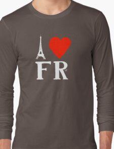 I Heart France (remix)  Long Sleeve T-Shirt