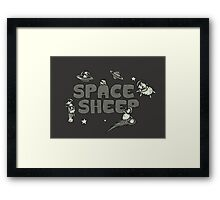 Space Sheep Framed Print