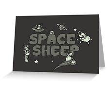 Space Sheep Greeting Card