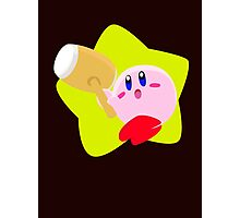 Super Smash Bros Kirby Photographic Print