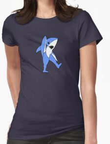 Left Shark Dance Moves Womens Fitted T-Shirt