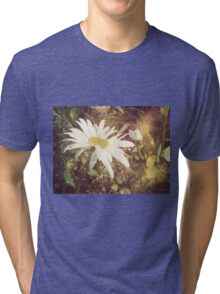 Big Chamomile Retro effect 2 Tri-blend T-Shirt