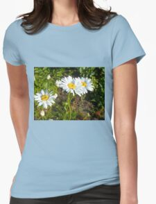 Big Chamomile 7 Womens Fitted T-Shirt