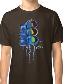 NYC Painted Traffic Light Classic T-Shirt