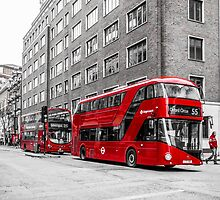 London Bus by Or Many