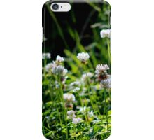 White Clover iPhone Case/Skin