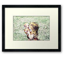 Love My Baby Framed Print