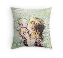 Love My Baby Throw Pillow