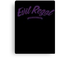 Once Upon a Time - Evil Regal - Purple Canvas Print