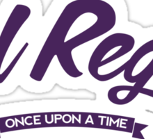Once Upon a Time - Evil Regal - Purple Sticker