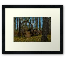 Willow Bench Lake Framed Print