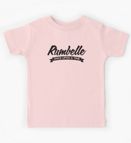 Once Upon a Time - Rumbelle - Dark Kids Tee