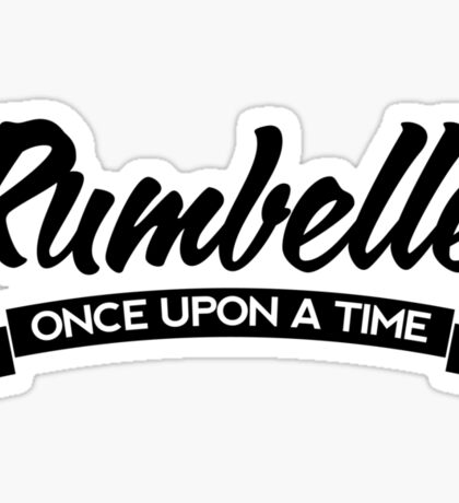 Once Upon a Time - Rumbelle - Dark Sticker