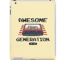 Awesome Generation iPad Case/Skin