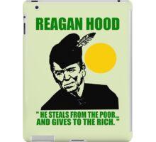 REAGAN HOOD iPad Case/Skin