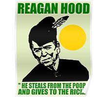 REAGAN HOOD Poster