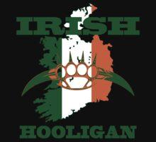 irish hooligan brass knuckles by hottehue