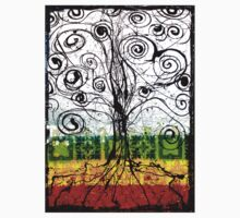 Rasta Tree One Piece - Long Sleeve