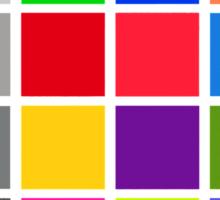 colour checker Sticker