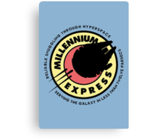 Millennium Express Canvas Print