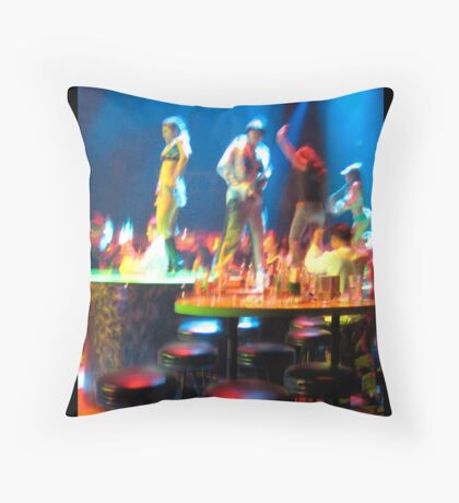 After Dark in Thailand Throw Pillow